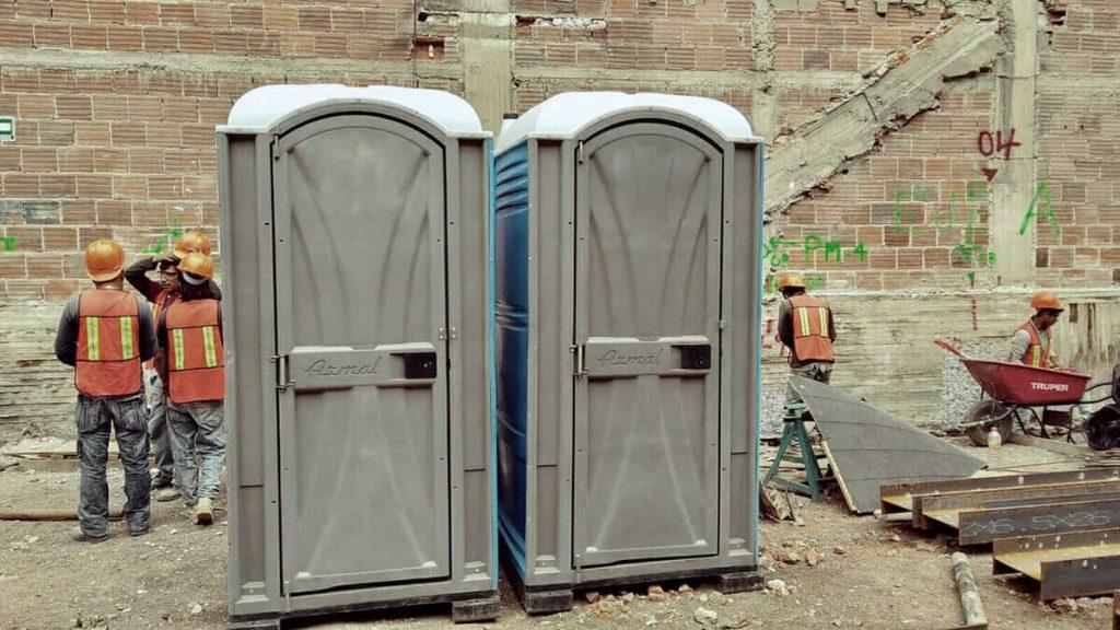 Baños portátiles para obras y/o construcciones