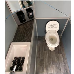 baños portátiles de lujo en renta